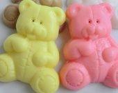 30 teddy bear soap favors - care bear baby shower favors - bear birthday favors - teddy bear kids favors - bear party favors - bear favors