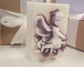 Fairy soap bar - gifts for teens - gifts for woman - valentines gift - gift for teachers - lavender fairy soap - valentines for her