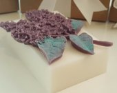 Lilac Soap Bar - valentines day gift - gift for her - gift for girls - gift for wife - teen gift - gifts for mom - sister gift