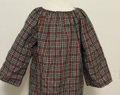 3t Plaid Peasant  Dress