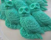 30 owl soap favors - harry potter birthday favor - animal wedding favor - owl bridal shower favor - party favor - jungle baby shower favors