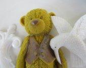 Teddy bear, fleur de lis, hummingbird soap -  gifts for teen, Christmas gift, Christmas stocking stuffer -