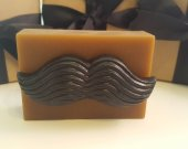 mustache soap bar - stocking stuffer for man - gifts for him - gifts for man - gifts for boyfriend - stocking for guys - mustache soap