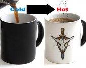 Macross Frontier Skull Color Changing Ceramic Coffee Mug CUP 11oz