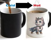 World Of Warcraft Frostwolf Color Changing Ceramic Coffee Mug CUP 11oz