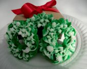 Christmas wreath soap set - stocking for her - stocking for teen - stocking stuffer for kids - Christmas wreath decor - Christmas decoration