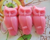 12 owl soap favors - woodland bridal shower favors - jungle baby shower favors - animal wedding favors - harry potter birthday party favors