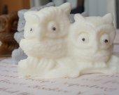 3 Owl Soap - hostess gift, owl gift set