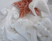 Polar bear, fleur de lis, hummingbird, star soap - Christmas stocking stuffer, gifts for teen, Christmas gift