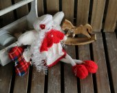 """Handmade author""""s Angel doll """"Fairy dreams"""". Interior doll. Original collectible doll. Christmas gift"""