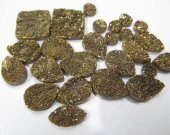 AA grade 20pcs  Gold Druzy Drusy Crystal Quartz  Beads  oval egg teardrop drop lite yellow  Cabochon Assorted Jewelry Beads 10-20mm