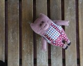 plush toy pig. Pig soft toy. Adorable stuffed animanl. Handmade pig. Piggy toy. Piglet toy. Pig softie. Plush piggy