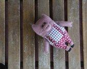 plush toy pig. Pig soft toy. Adorable stuffed animanl. Handmade pig. Piggy toy. Piglet toy. Pig softie. Plush piggy