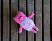 Cute plush pig. Pig plush toy. Adorable stuffed animal. Handmade pig. Piggy toy. Piglet toy. Pig softie. Plush pigg