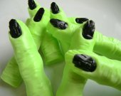 200 Frankenstein finger soap favors - Halloween wedding favors - witch finger favors - wizard of oz birthday favors - office Halloween favor
