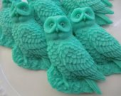 40 owl soap favors - woodland bridal shower favors - jungle baby shower favors - animal wedding favors - harry potter birthday party favors