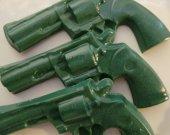 10 gun soap favors - hunting camo party favors - hunting birthday favors - gun wedding favors - gun birthday favors - police party favors