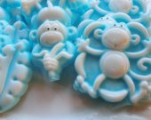 30 monkey soap favors - Jungle baby shower favors - safari birthday favors - zoo party favors - monkey birthday favors - monkey shower favor