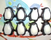 20 penguin soap favors - penguin birthday favors - madagascar party favors - zoo baby shower favors - penguin wedding favors - penguin favor