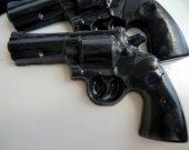 30 police gun soap favors - detective birthday favors - police gun wedding favors - western party favor - police birthday favors - gun favor