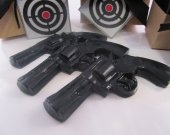 3 Gun Soap - cool gifts for guys, gift for him, valentines for boyfriend - black gun