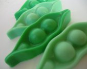40 peas in a pod soap favors - two peas in a pod wedding favors - twins baby shower favors - gender reveal shower favors - pea pod birthday
