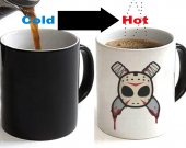 Jason Voorhees Color Changing Ceramic Coffee Mug CUP 11oz