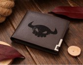 How to train your dragon skull Leather Wallet