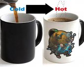 Rick and Morty Color Changing Ceramic Coffee Mug CUP 11oz