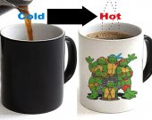 Teenage Mutant Ninja Turtle Color Changing Ceramic Coffee Mug CUP 11oz