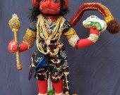 "Hanuman "" Hindu Monkey God of Longevity, Stamina, Health and Strength"