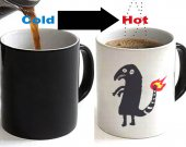 Shitty Charmander Color Changing Ceramic Coffee Mug CUP 11oz