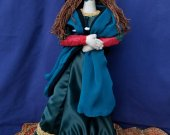 "Mona Lisa "" Gioconda, Masterpiece of Sublime Beauty "" Good Luck Doll"