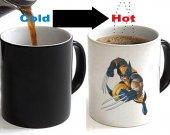 Wolverine Color Changing Ceramic Coffee Mug CUP 11oz
