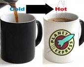 Futurama Planet Express Color Changing Ceramic Coffee Mug CUP 11oz