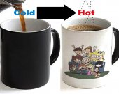 Loud house Color Changing Ceramic Coffee Mug CUP 11oz