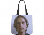 Matthew Gray Gubler canvas tote bag