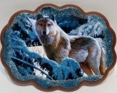 """Picture from the stone """"Wolf"""""""