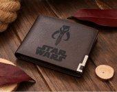 Star Wars BOBA FETT Skull Leather Wallet