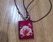 Pendant with painting