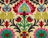 BODY PILLOW COVERS- Waverly Santa Maria Desert Flower- 20 x 54