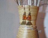 Egyptian - Mythical Cat earrings.