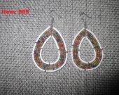 African Maasai earrings  women earrings African Beaded earrings