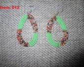 African Maasai Beaded earrings African earrings Made in Nigeria
