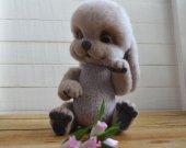 OOAK Felted bunny Lilu