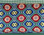 Vintage Hand Embroidered wall hanging Rug Tapestry Carpet