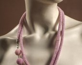 pink-purple necklace Tenderness