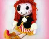 Shelf decor Unique gift Baby gift Stuffed toy Handmade toy For kids Bed doll Crochet doll Custom dolls Soft doll