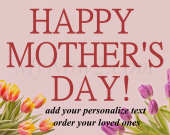 Personalize Mothers, Day Gift #01