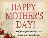 Personalize Mothers, Day  Gift - #05
